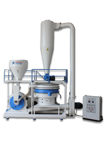 Prime Margo Machines providing all type of Pulverizers, Lldpe pulverizer for rotomoulding, Plastic pulverizer manufacturer in india.
